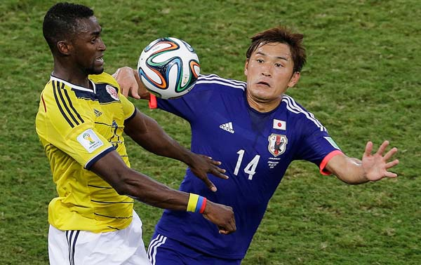 ty le cuoc tran colombia vs nhat hinh 1