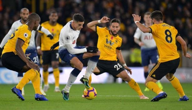 nhan dinh ty le cuoc tottenham vs wolves hinh anh 1
